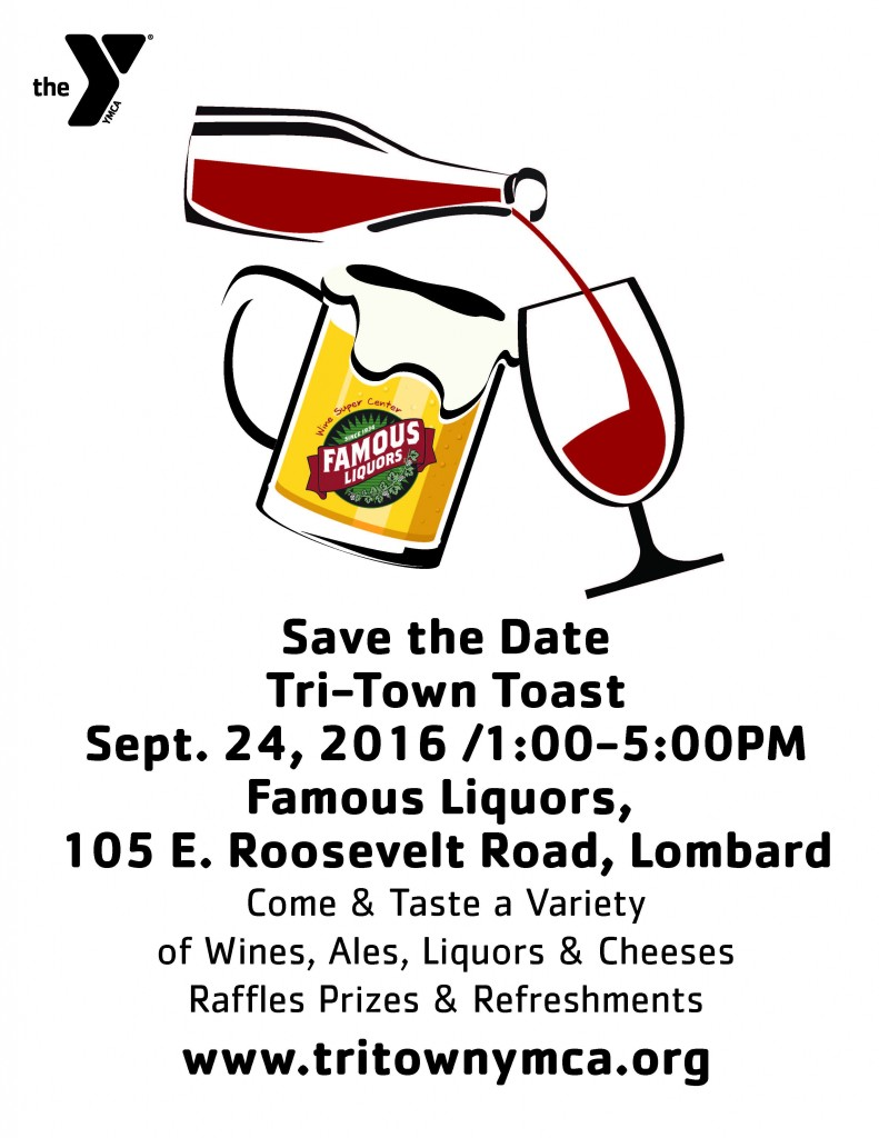 Save the Date Toast Flyer 2016