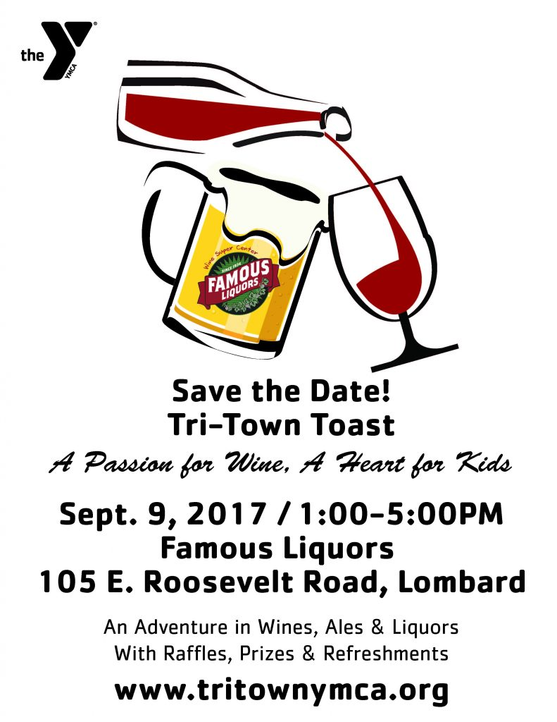 Save the Date Toast Flyer 2017
